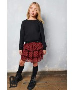 """Ladybird"" layered skirt"