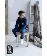 Boy's denim sweatshirt
